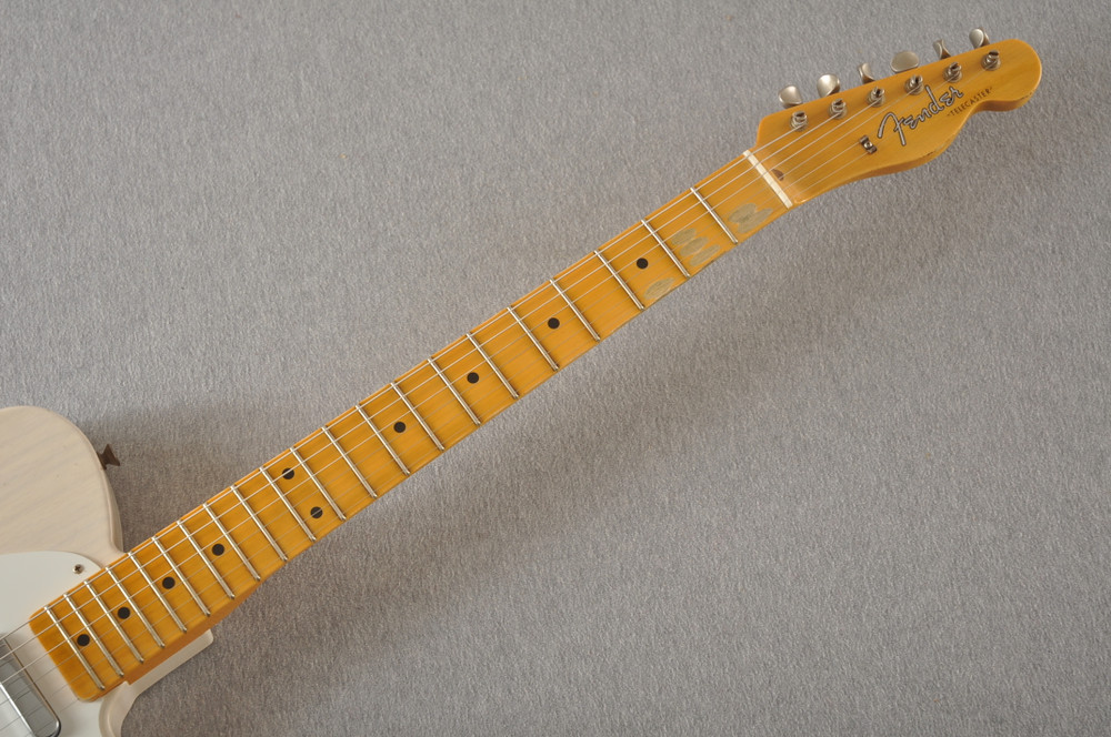 Fender Custom Shop 1957 Telecaster Journeyman Relic White Blonde - View 8