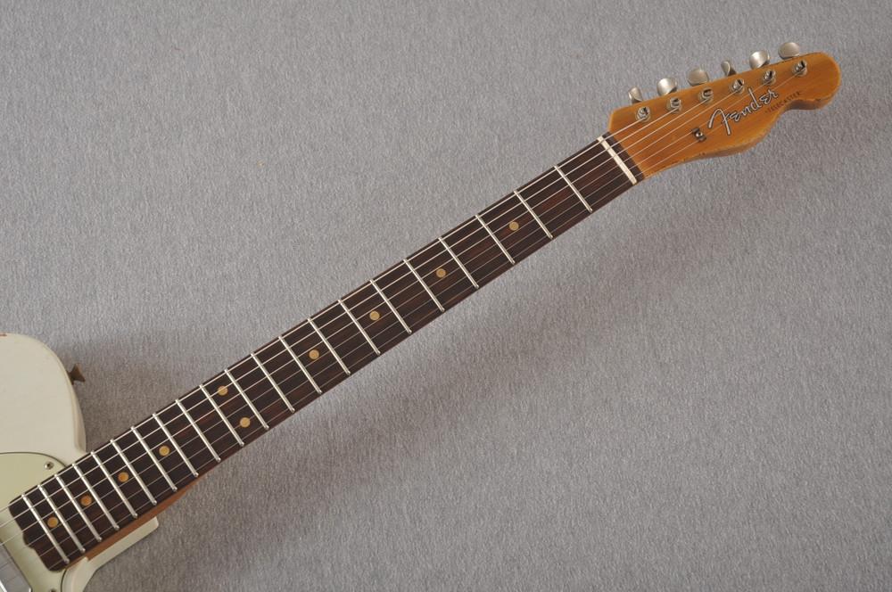 Fender Custom Shop 1961 Telecaster Relic Olympic White - View 10