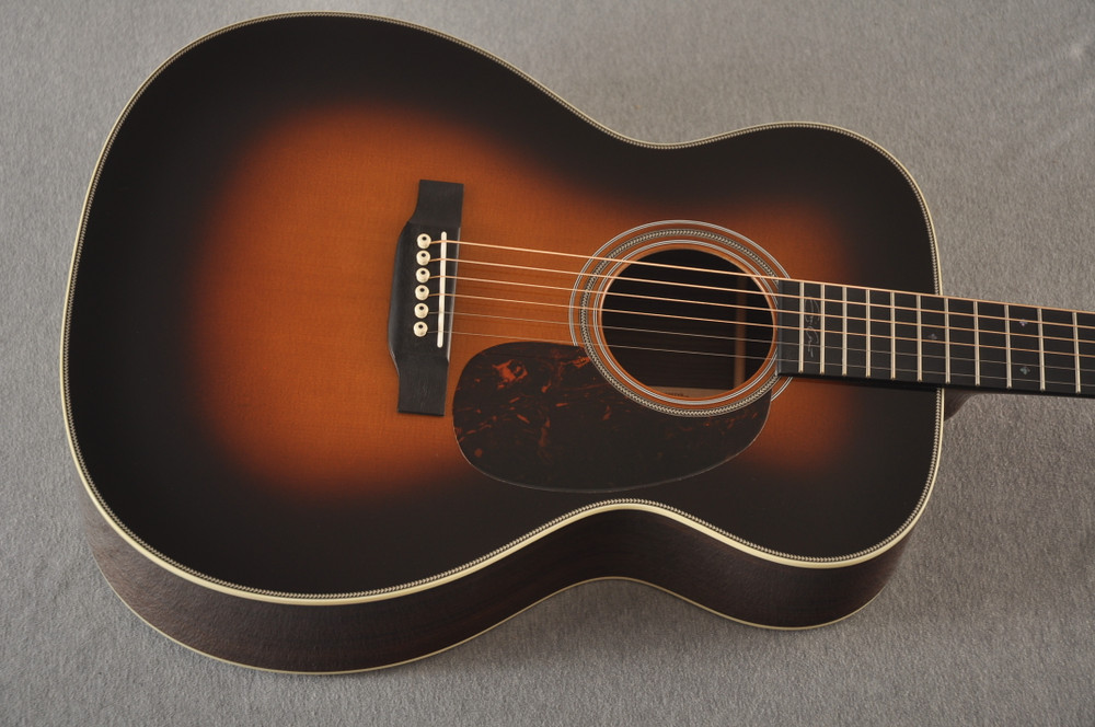 Martin 000-28EC Sunburst Eric Clapton Acoustic Guitar #2245837 -Top