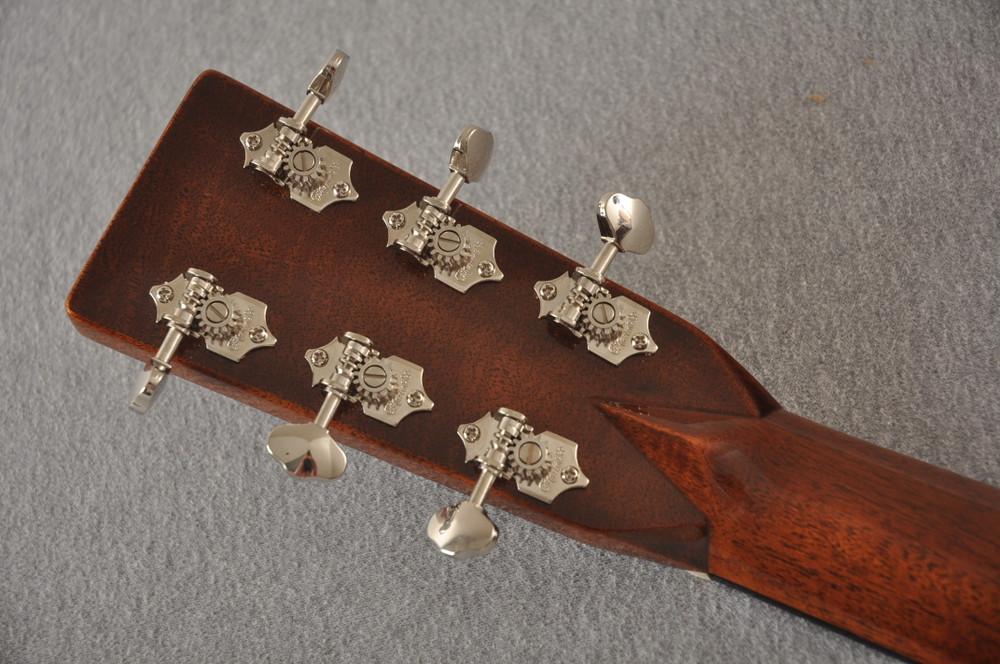 Martin 000-28EC Sunburst Eric Clapton Acoustic Guitar #2245837 - Back Headstock