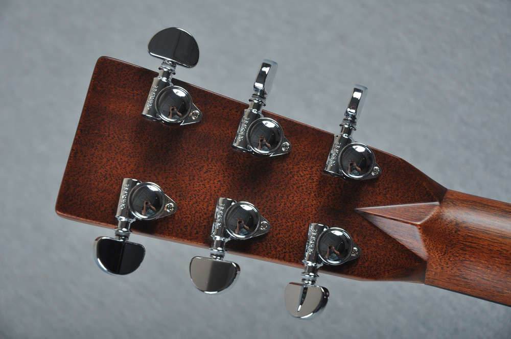 "2016 Martin Custom Shop 000-28 Guatemalan Ambertone 1 3/4"" Nut #2021545 - Back Headstock"