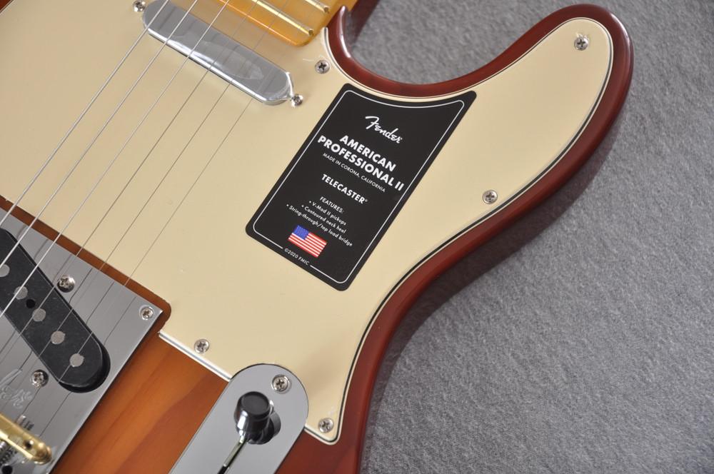 Fender American Professional II Telecaster Sienna Sunburst - View 3