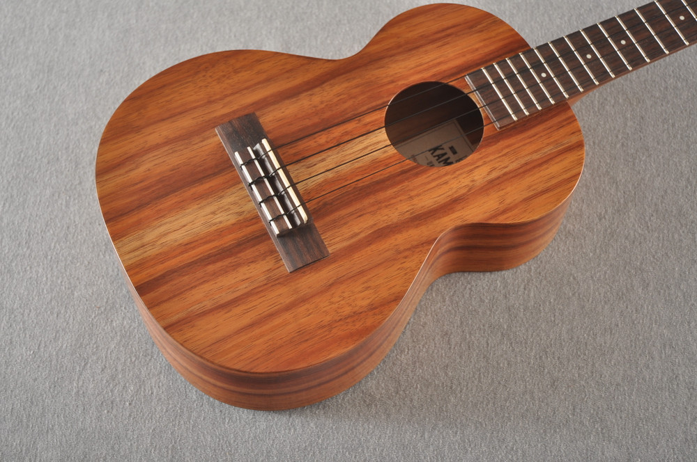 Kamaka Tenor Ukulele Made in Hawaii - HF-3 - Solid Koa - 191235