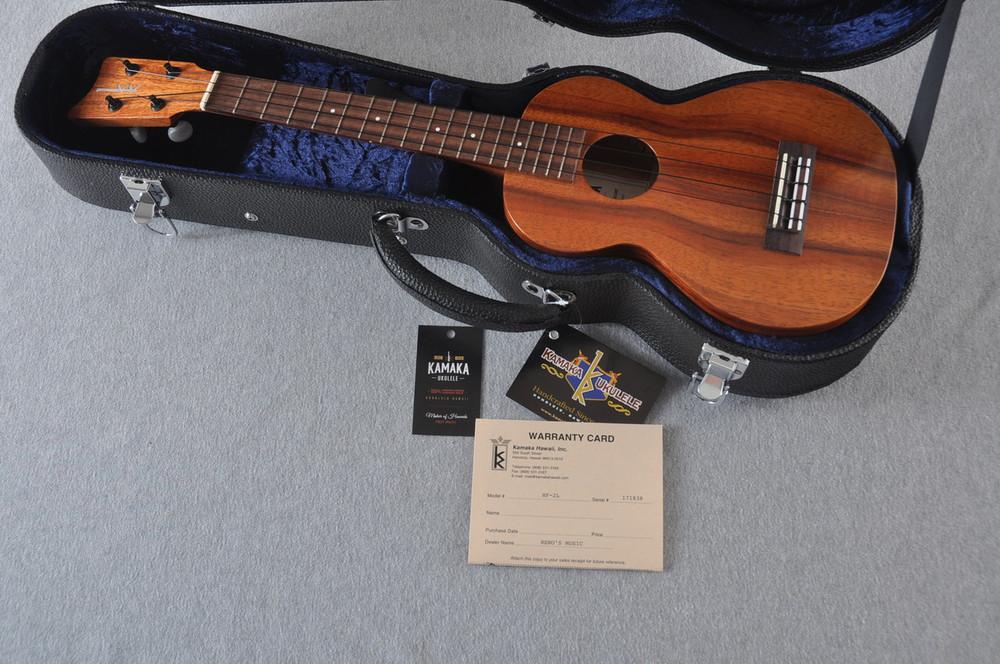 Kamaka Long Neck Concert Ukulele HF-2L - New 2018 - Made in Hawaii - 171838 - View 2