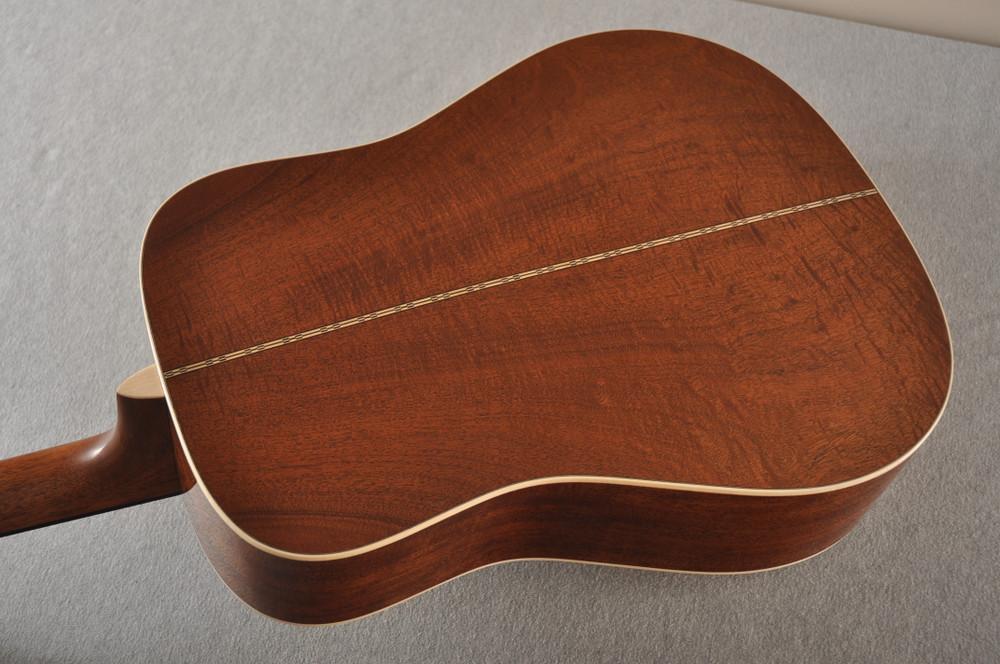 Martin Custom NAMM Figured Sinker Mahogany Dread 18 #2293406 - Back View 1