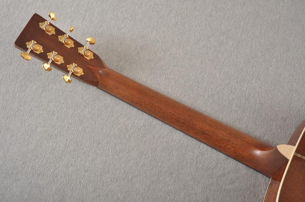 Martin Custom NAMM Figured Sinker Mahogany Dread 18 #2293406 - Back Neck