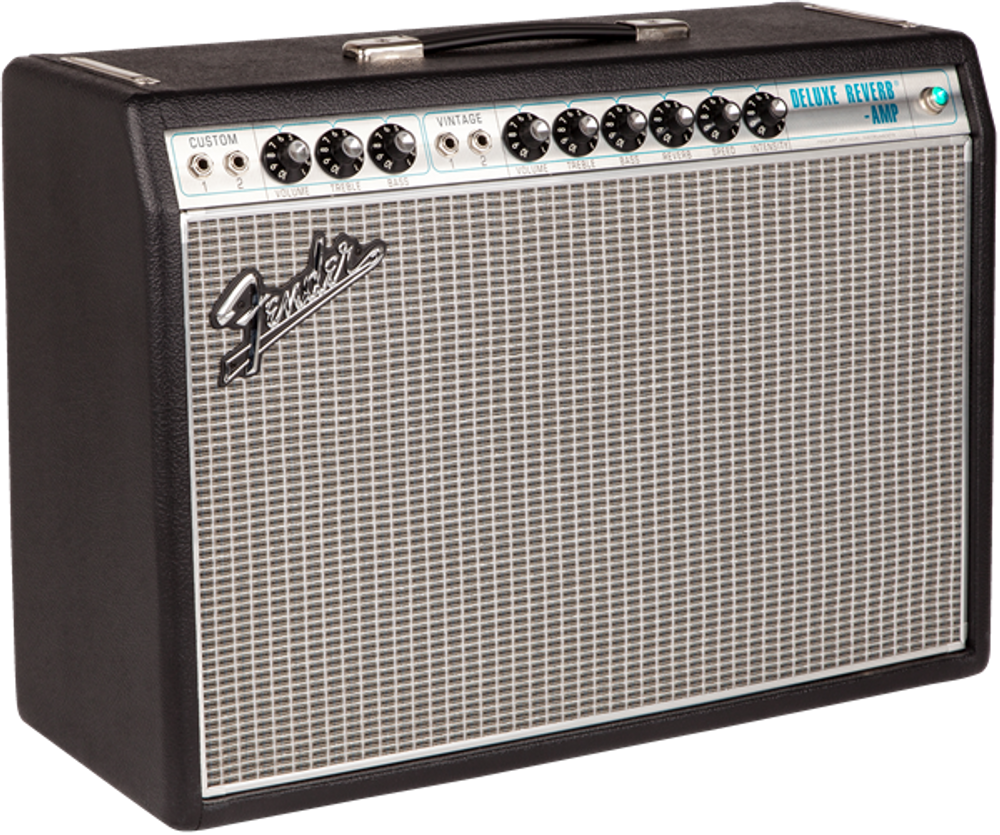 Fender '68 Custom Deluxe Reverb Tube Combo Guitar Amplifier