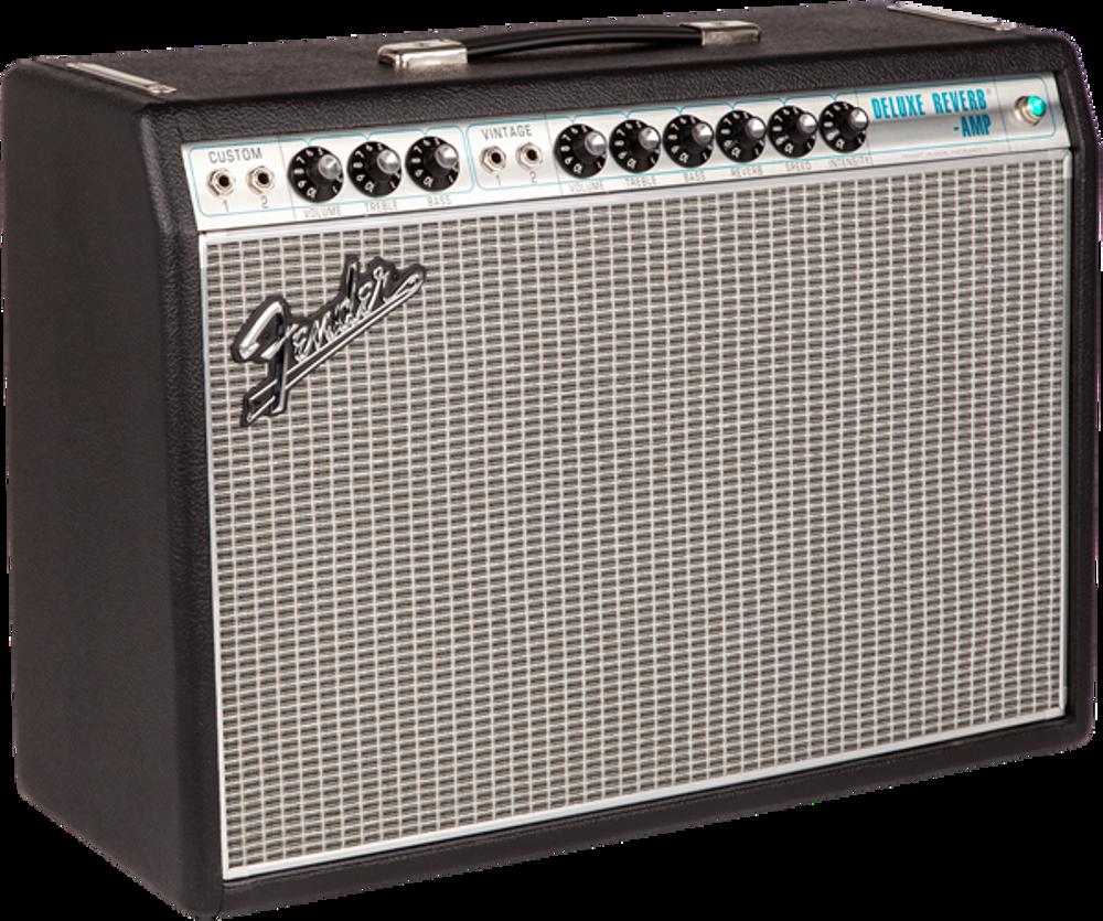 Fender '68 Custom Deluxe Reverb Tube Combo Guitar Amplifier
