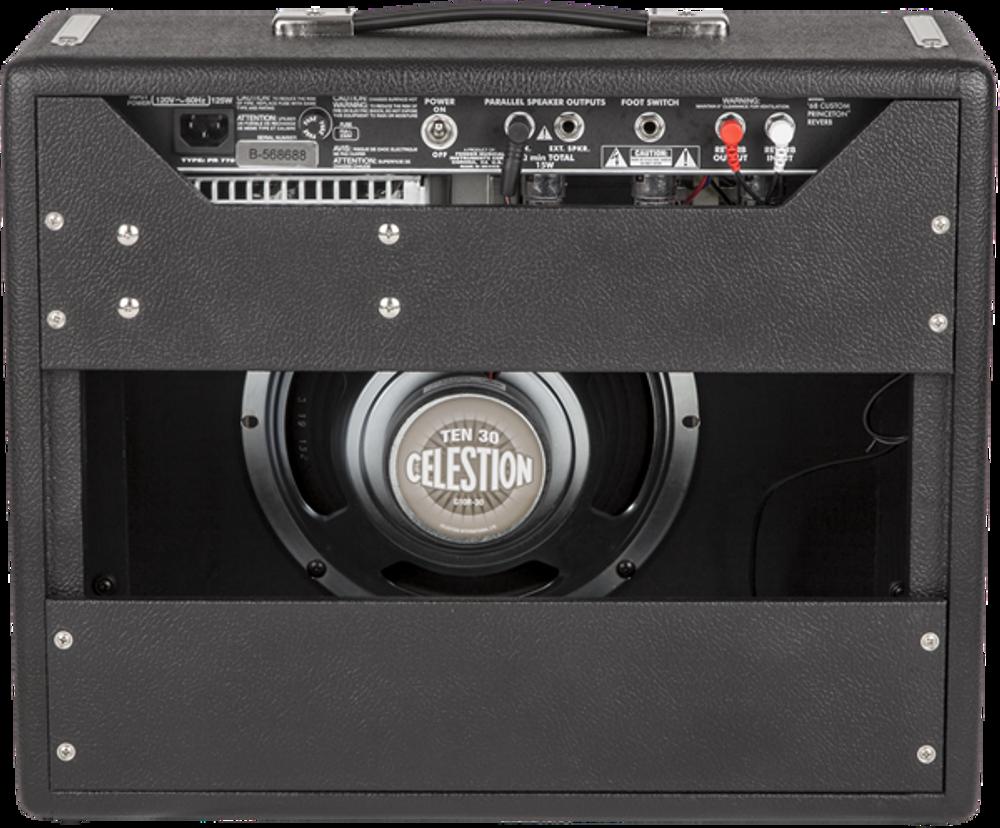 Fender '68 Custom Princeton Reverb Tube Combo Guitar Amplifier - View 2
