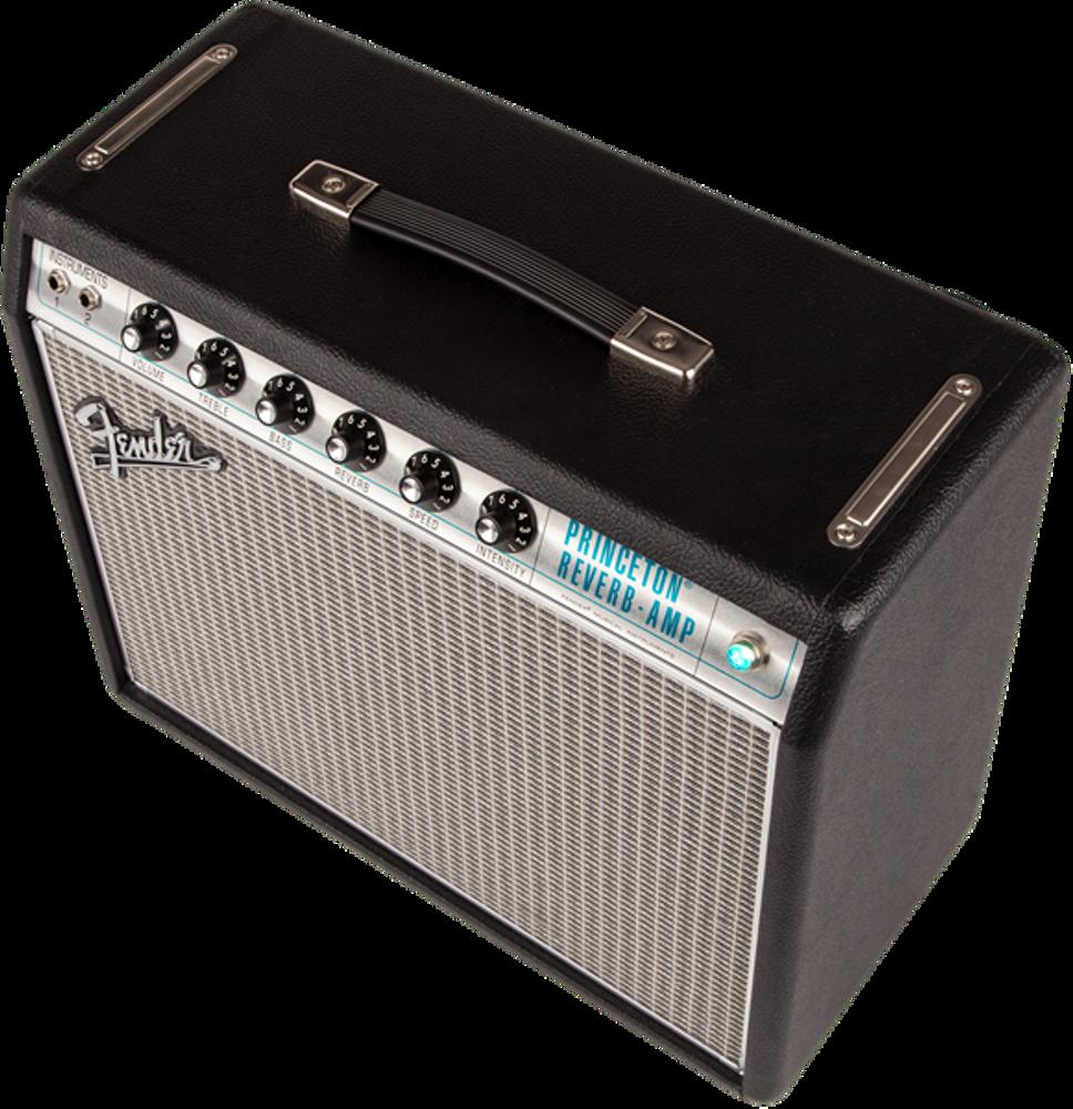 Fender '68 Custom Princeton Reverb Tube Combo Guitar Amplifier - View 4