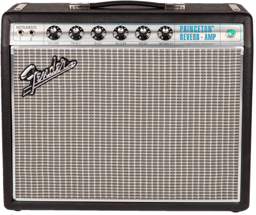 Fender '68 Custom Princeton Reverb Tube Combo Guitar Amplifier