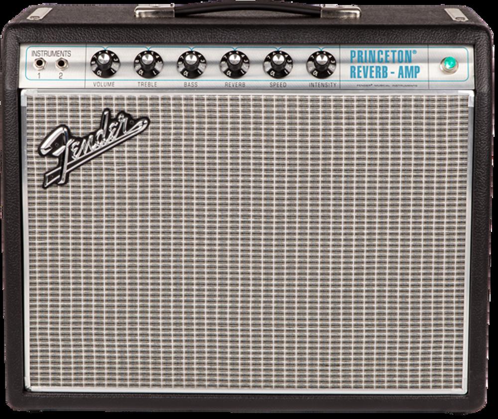 Fender '68 Custom Princeton Reverb Tube Combo Guitar Amplifier