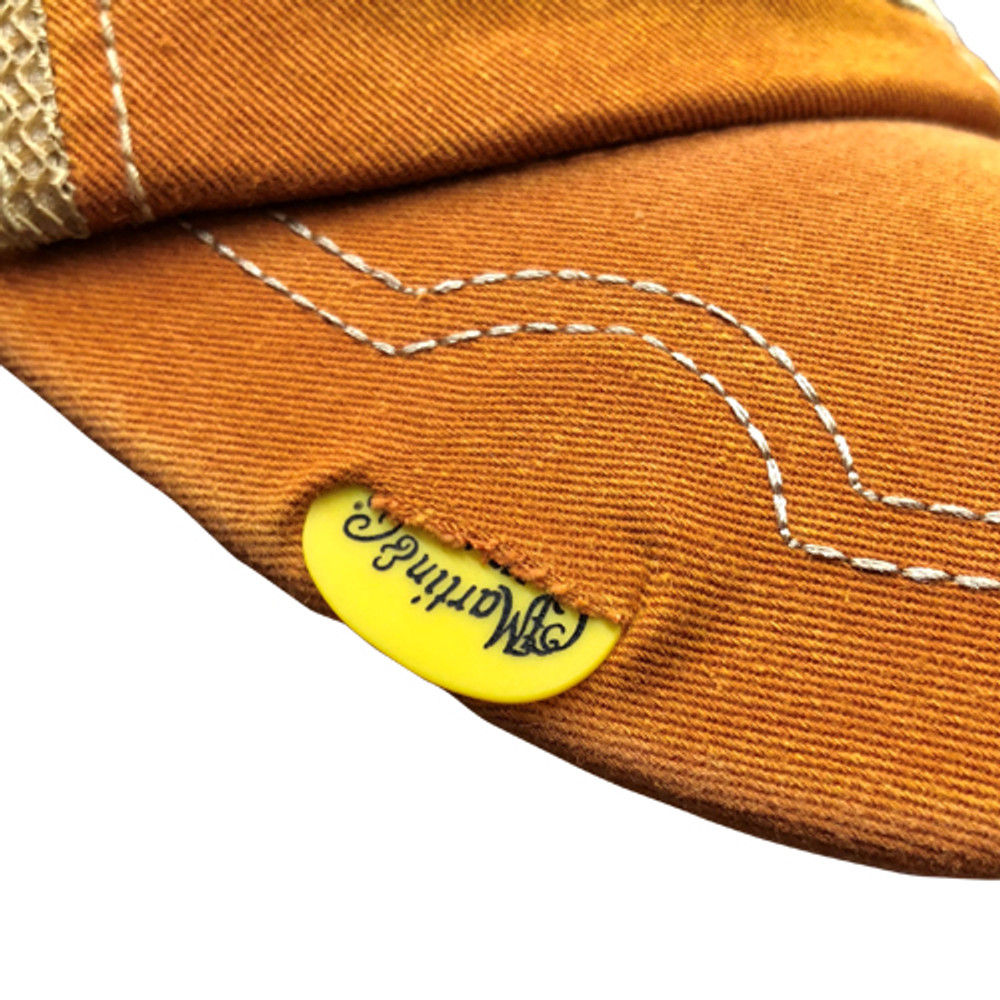 Martin Guitar Hat - Orange Baseball Cap - Holds Pick - 18NH0046 - View 2