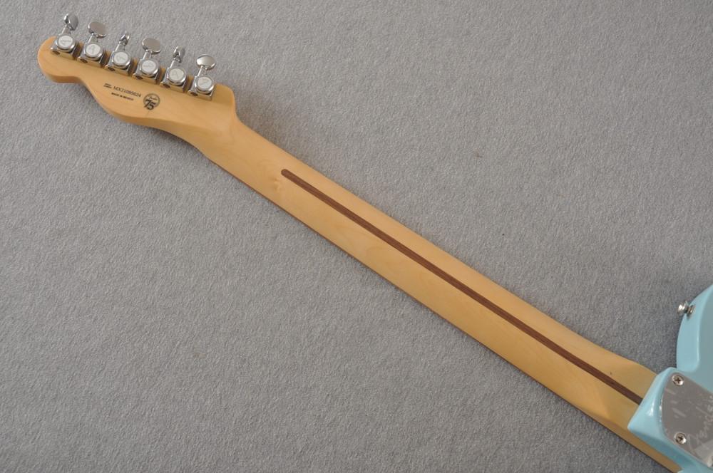 Fender Deluxe Nashville Tele - Daphne Blue Telecaster - View 9