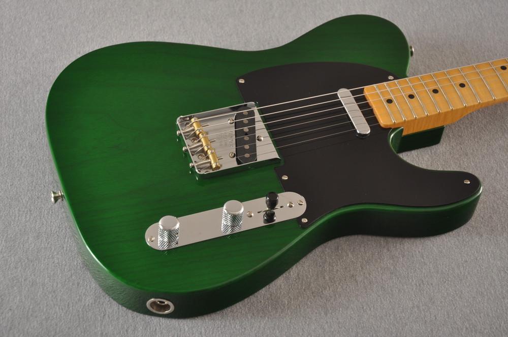 Fender Nocaster Custom Shop 51 NOS Emerald Green 7 lbs 2.3 oz