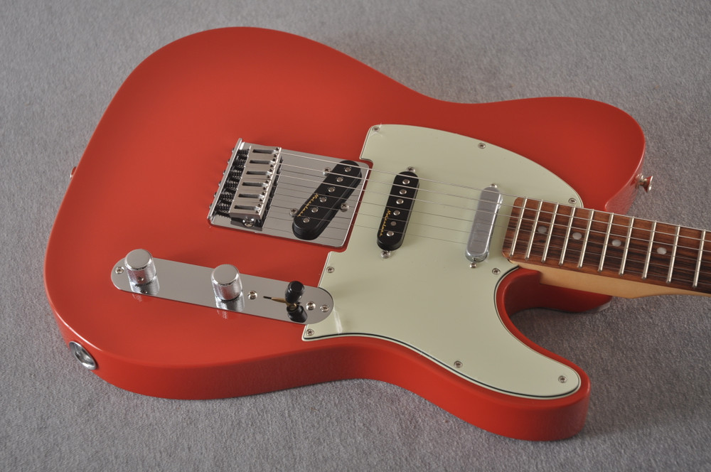 Fender Deluxe Nashville Tele - Fiesta Red Telecaster - View 8