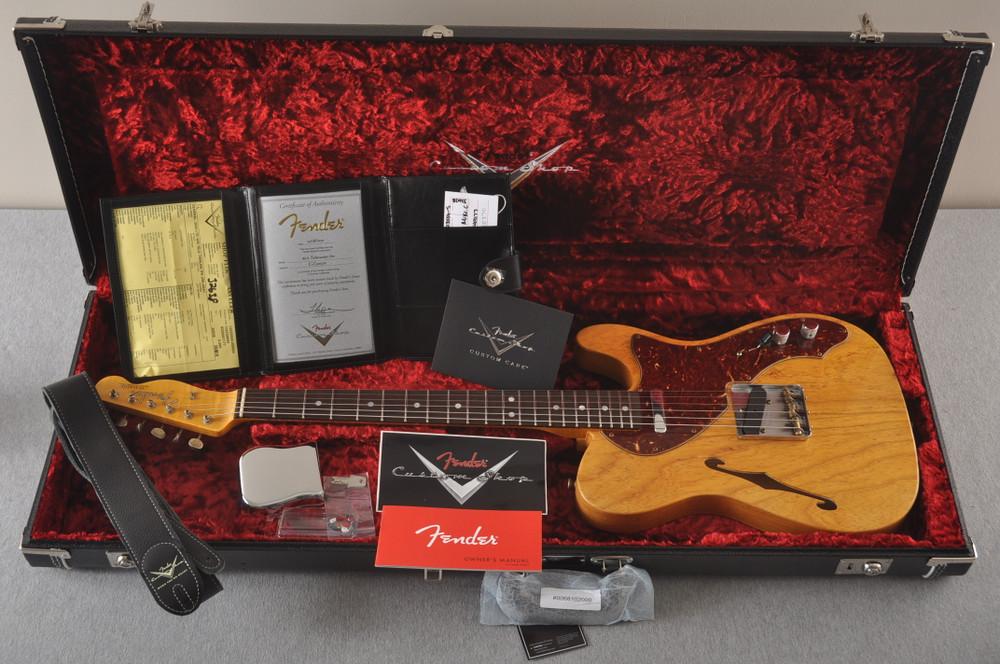 Fender Custom Shop '60s Telecaster Thinline Journeyman Relic - View 2
