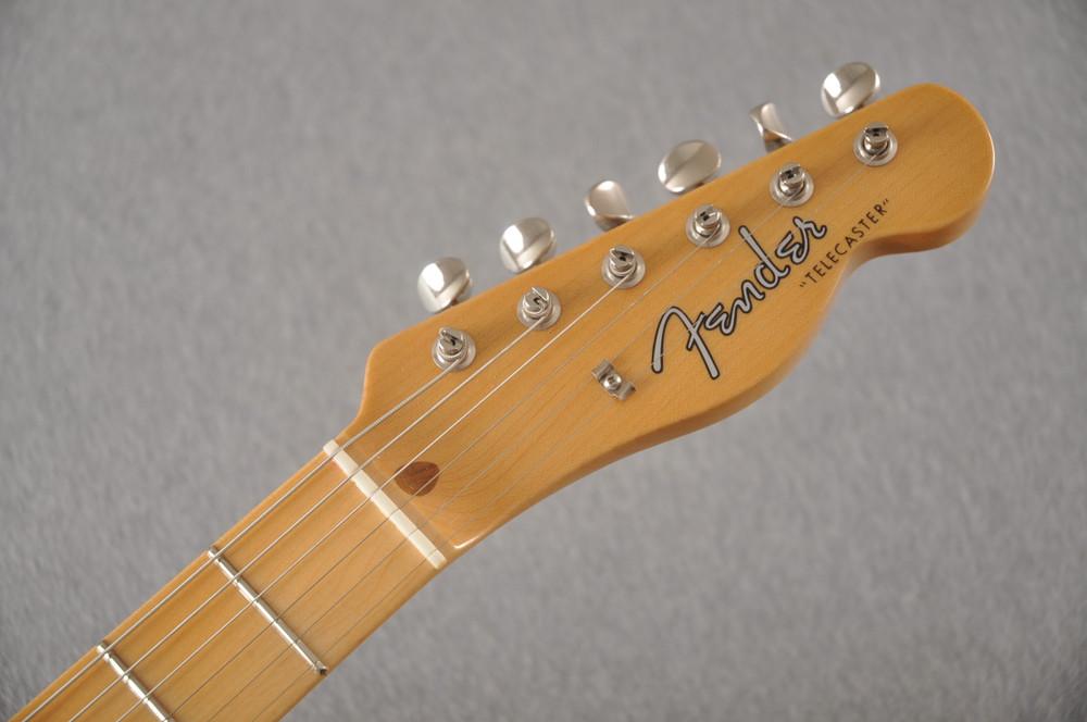 Fender Custom Telecaster Vintage 1958 Top Load Tele White Blonde - View 5