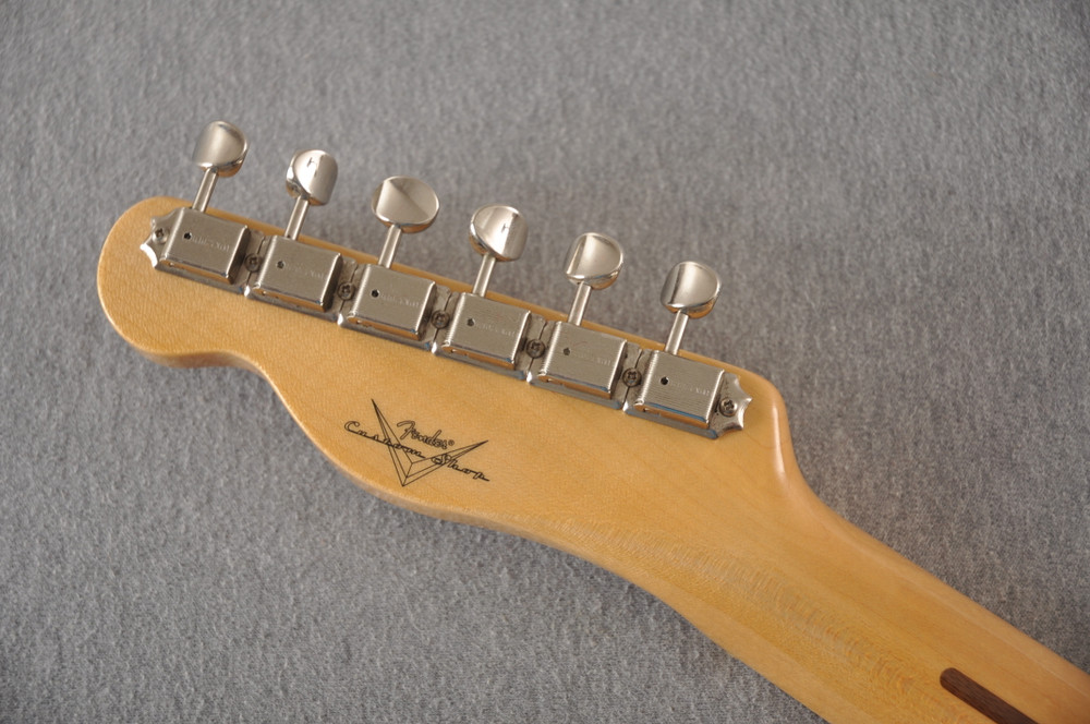 Fender Custom Telecaster Vintage 1958 Top Load Tele White Blonde - View 9