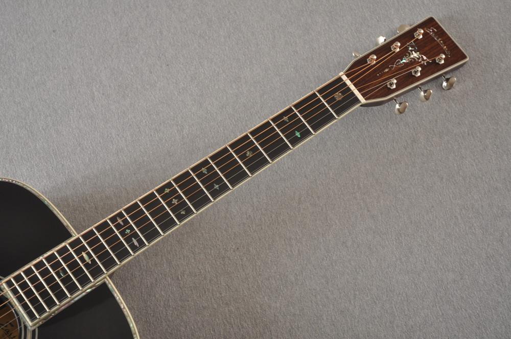 Eastman E40OM Acoustic Guitar Orchestra Model Adi Top Sunburst - View 9