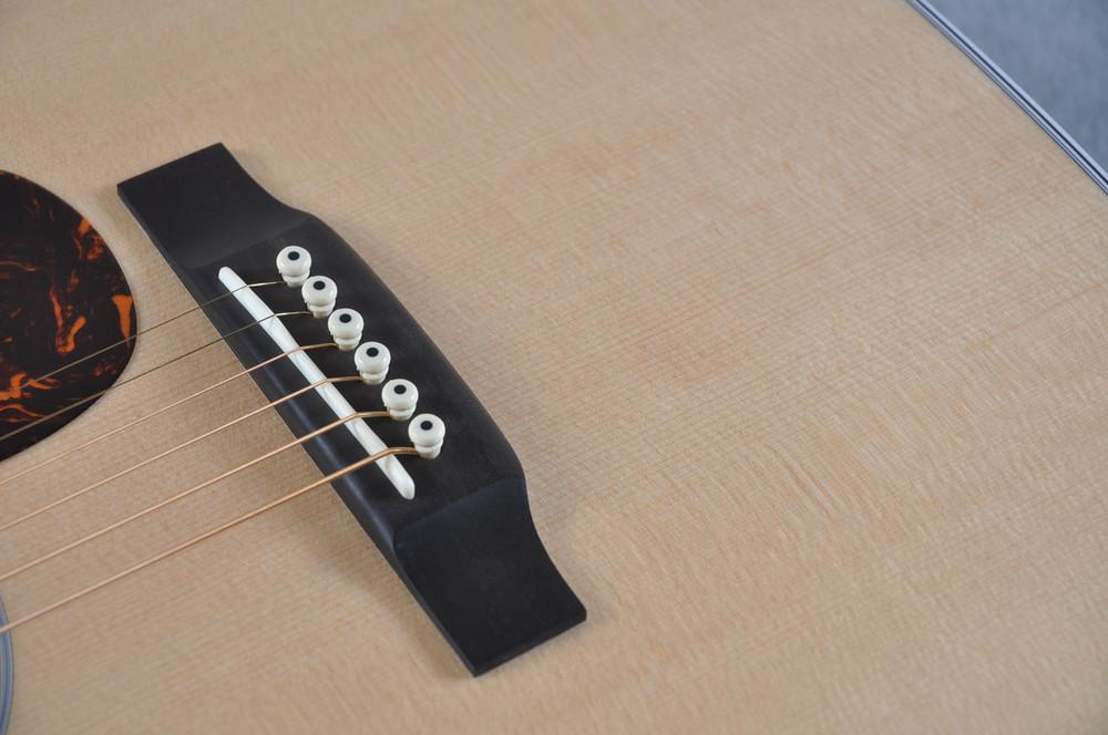 2016 Martin Custom Shop 00-28 Guatemalan Acoustic Guitar #2054111 - Bridge