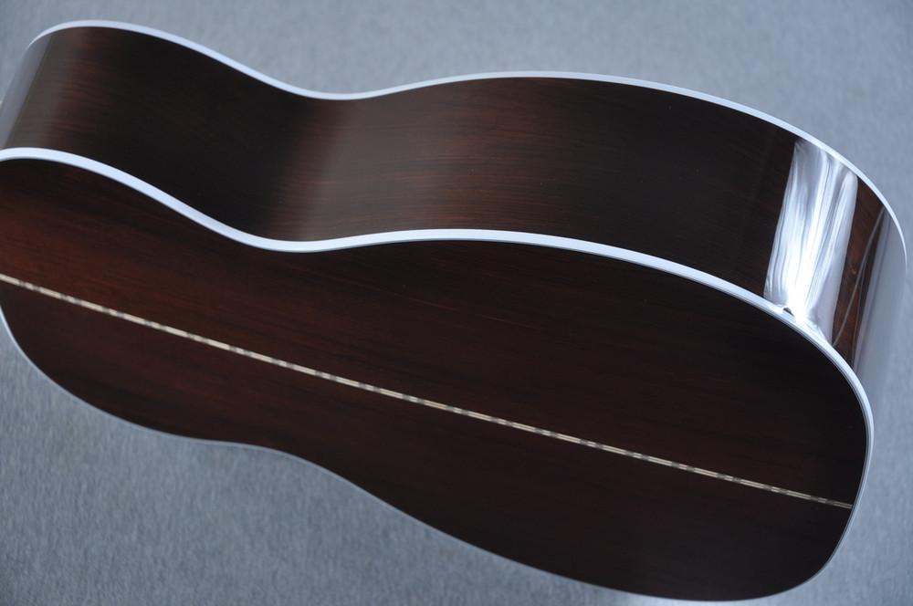 2016 Martin Custom Shop 00-28 Guatemalan Acoustic Guitar #2054111 - Side