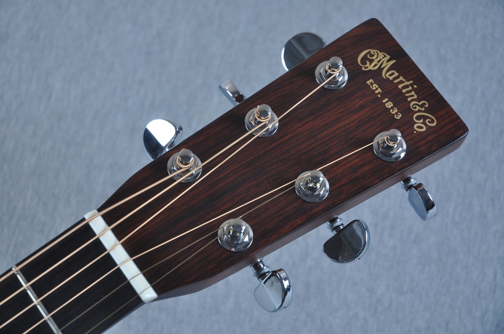 2016 Martin Custom Shop 00-28 Guatemalan Acoustic Guitar #2054111 - Headstock