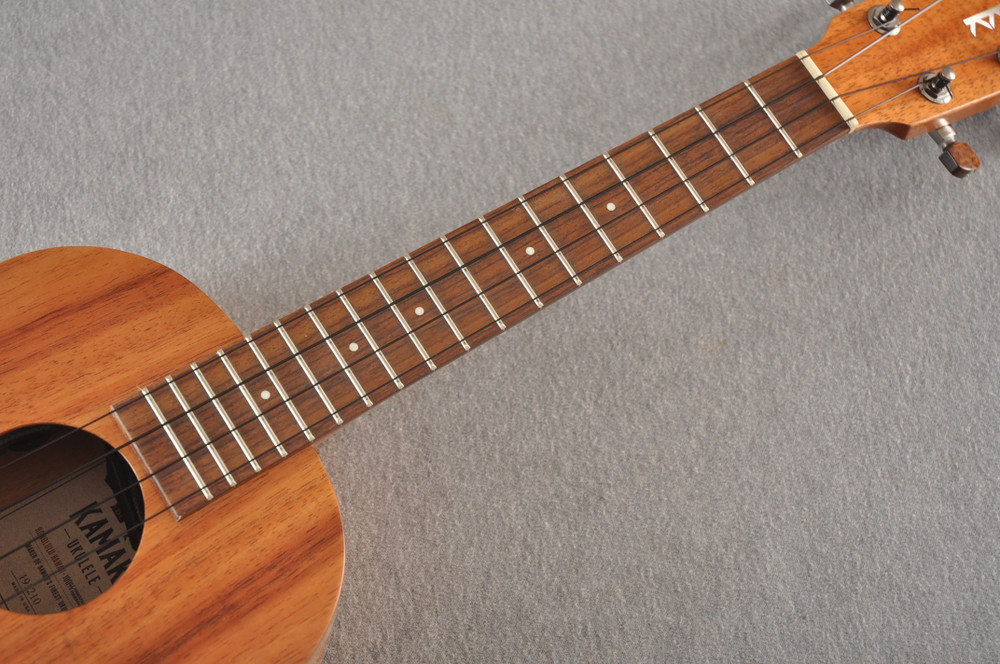 Kamaka Tenor Electric Ukulele HF-3 - Solid Hawaiian Koa - 191210 - View 6
