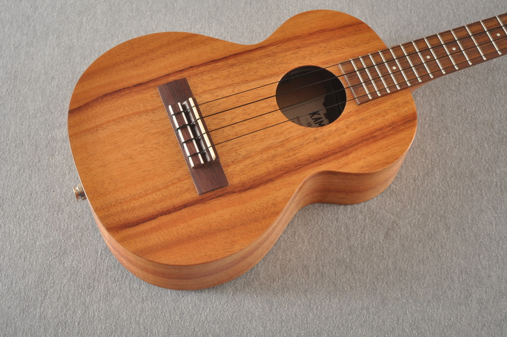 Kamaka Tenor Electric Ukulele HF-3 - Solid Hawaiian Koa - 191210
