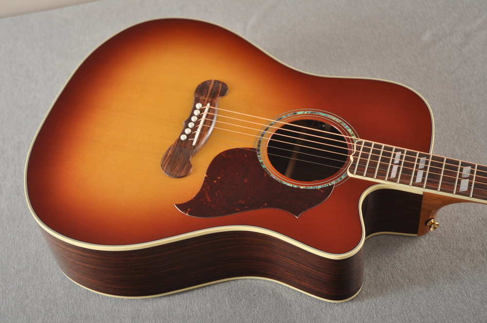 Gibson Cutaway Acoustic Guitar Songwriter Electric LR Baggs - View 7