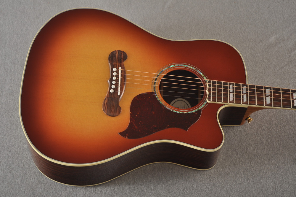 Gibson Cutaway Acoustic Guitar Songwriter Electric LR Baggs - View 12