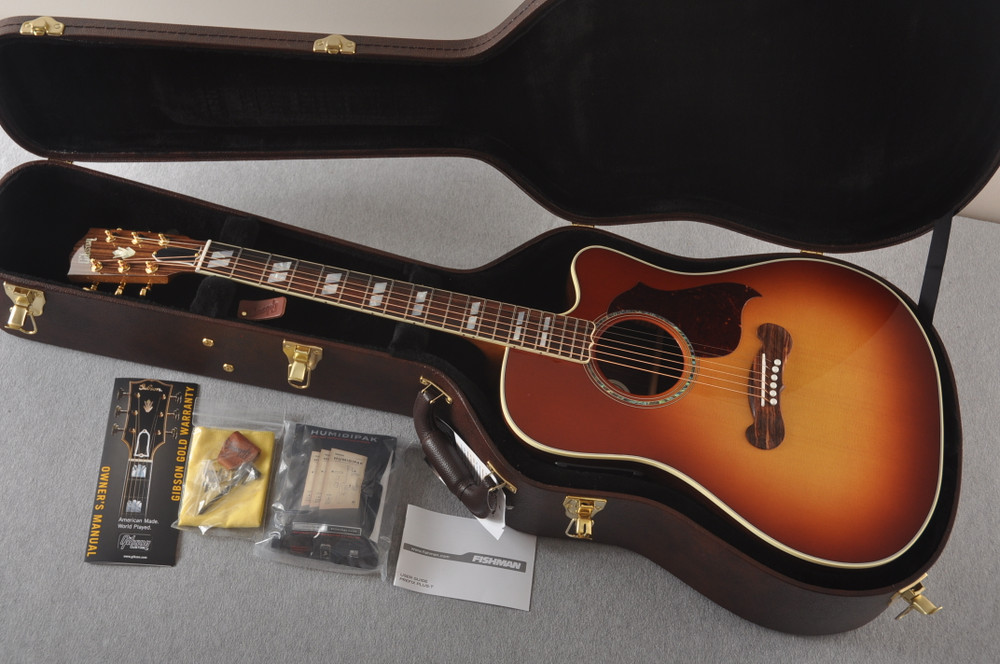 Gibson Cutaway Acoustic Guitar Songwriter Electric LR Baggs - View 2