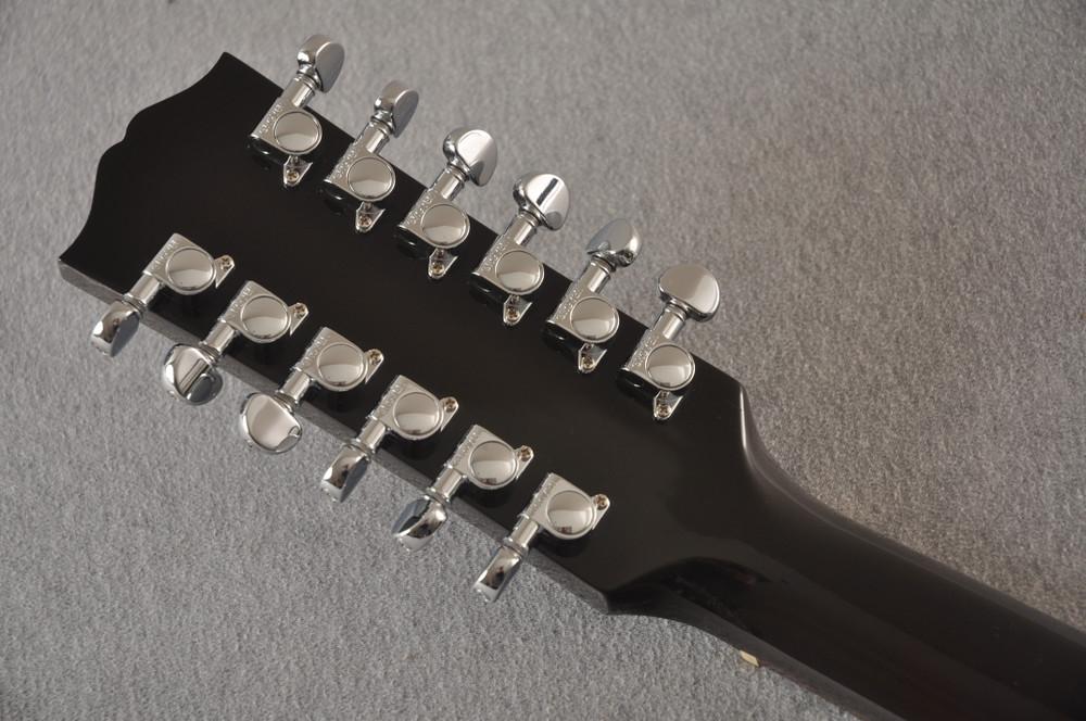 Gibson J-45 Standard 12 String Acoustic Guitar Sunburst LR Baggs - View 6