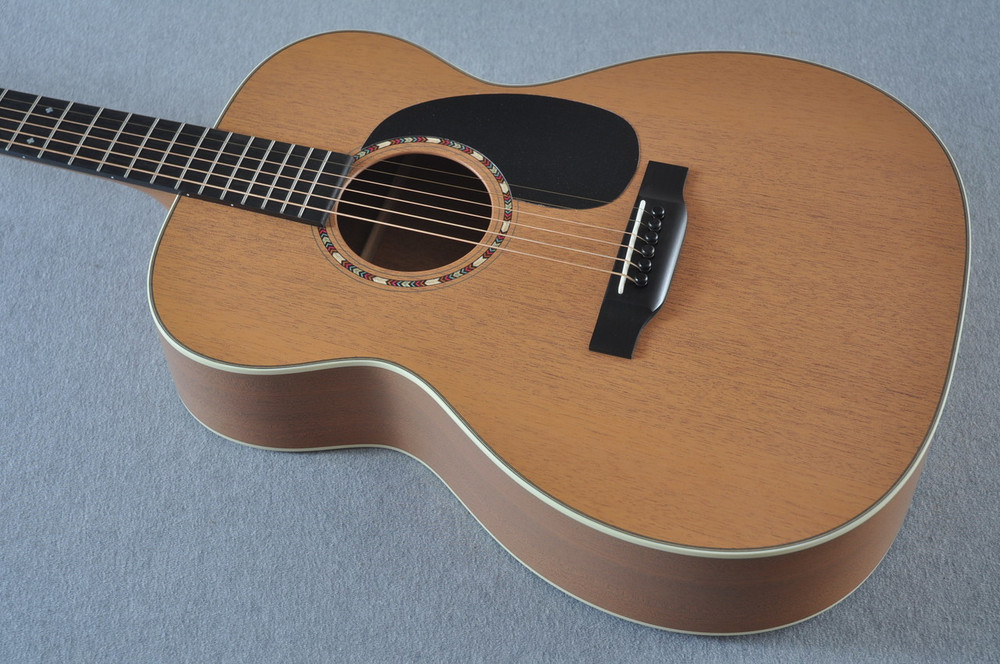 Martin Custom Shop 000-15 Tangerine Acoustic Guitar #2109318 - Reverse Top