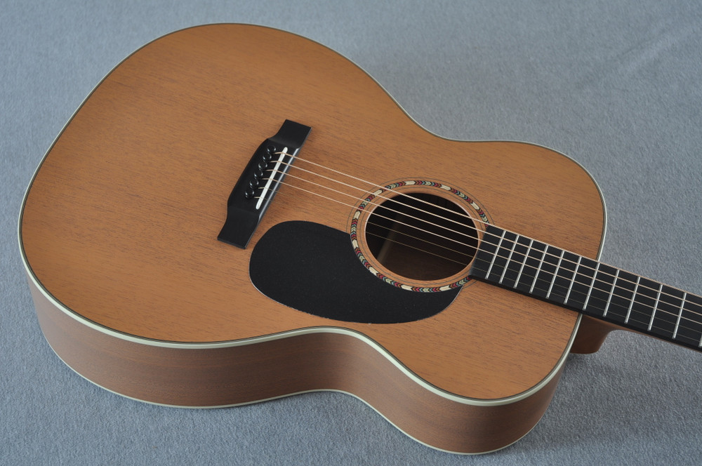 Martin Custom Shop 000-15 Tangerine Acoustic Guitar #2109318 - Top