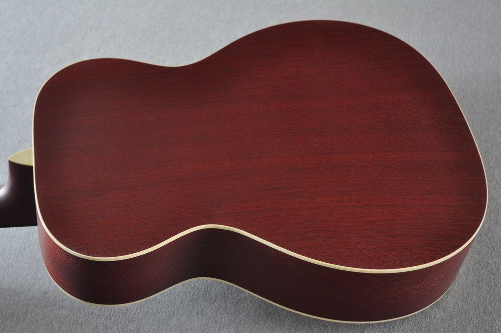 Martin Custom Shop 000-15 Red Acoustic Guitar #2109317 - Back Angle