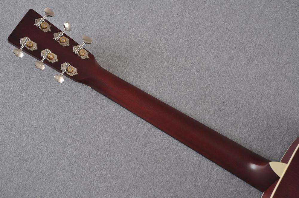 Martin Custom Shop 000-15 Red Acoustic Guitar #2109317 - Back Neck