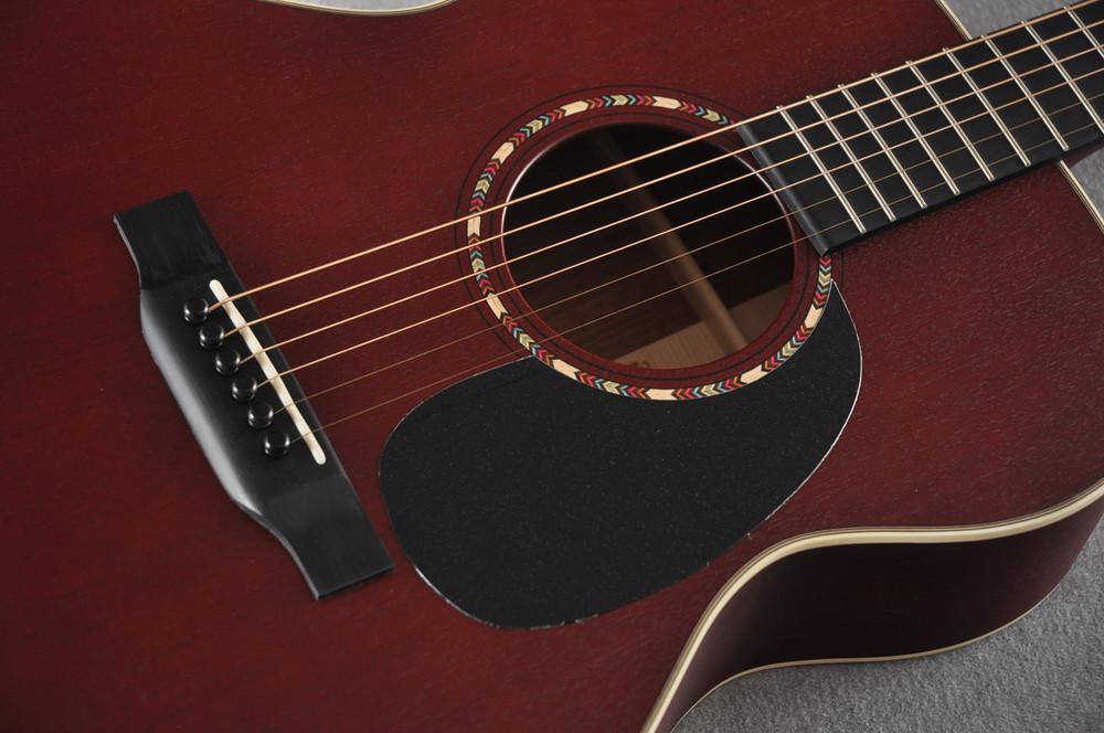 Martin Custom Shop 000-15 Red Acoustic Guitar #2109317 - Rosette