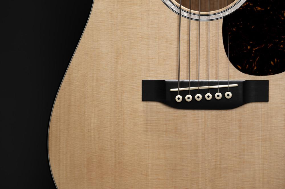 Kids Beginner Acoustic Guitar - Martin Dreadnought Junior - Sitka - View 5