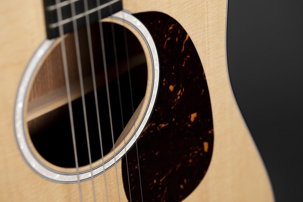 Kids Beginner Acoustic Guitar - Martin Dreadnought Junior - Sitka - View 8