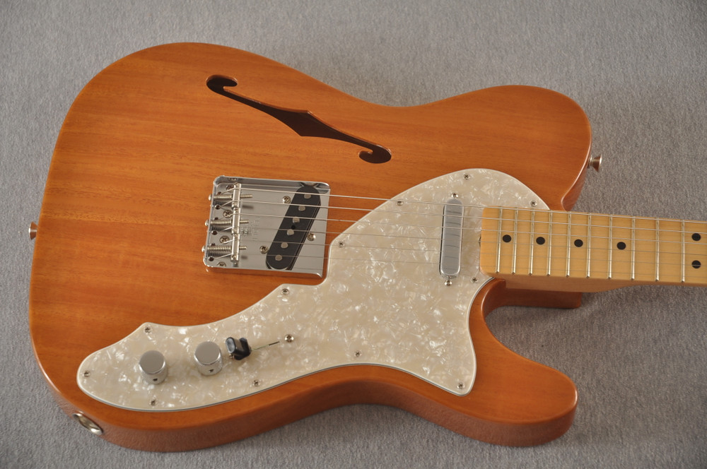 Fender Telecaster Thinline 1968 Vintage Custom Natural - View 6