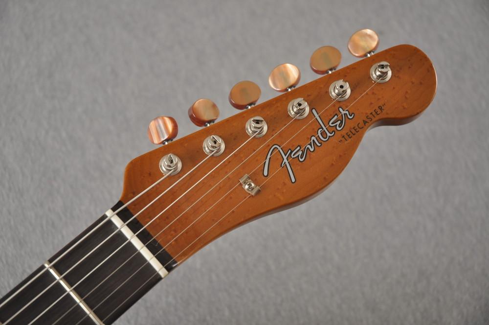 Fender Custom Shop Artisan Koa Thinline Telecaster® NOS  - View 3