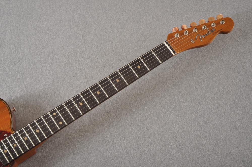 Fender Custom Shop Artisan Koa Thinline Telecaster® NOS  - View 7