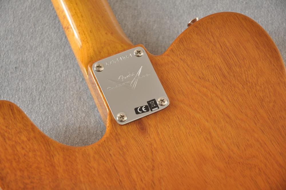 Fender Custom Shop Artisan Koa Thinline Telecaster® NOS  - View 4