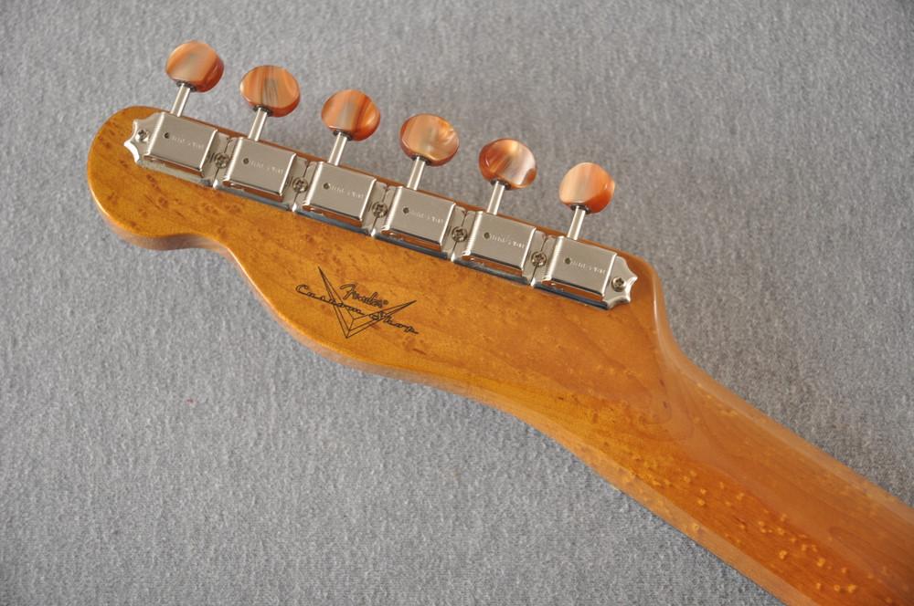 Fender Custom Shop Artisan Koa Thinline Telecaster® NOS  - View 9