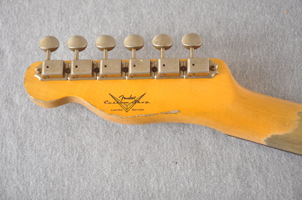 Fender Telecaster Custom Relic Limited Edition CuNiFe Humbucker - View 6