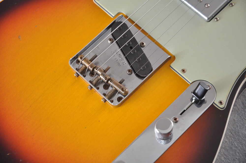Fender Telecaster Custom Relic Limited Edition CuNiFe Humbucker - View 8