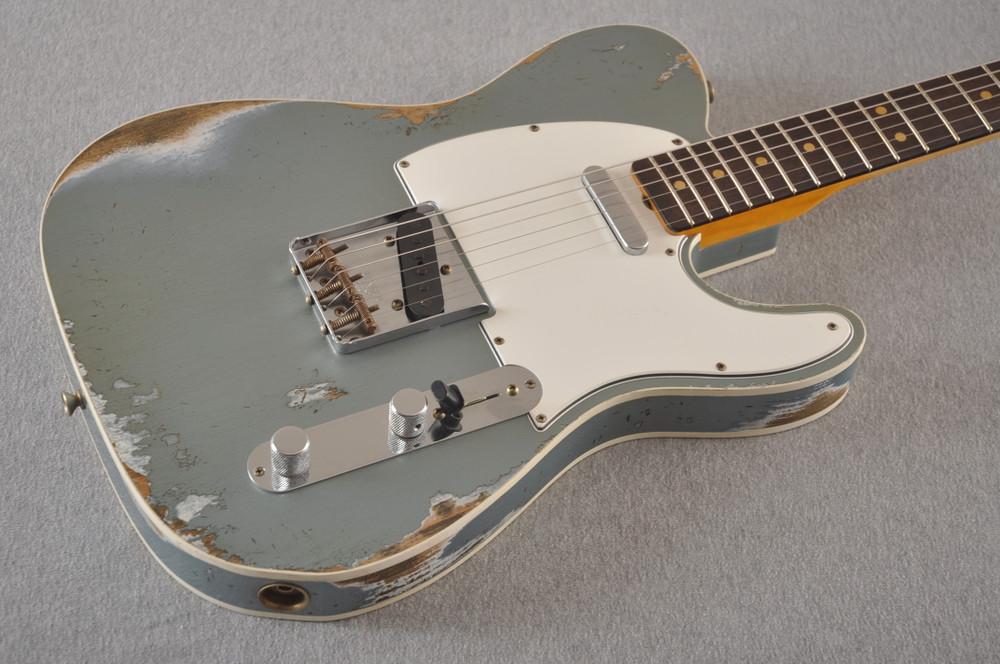 Fender 1964 Telecaster Custom Shop Heavy Relic Blue Ice Metallic