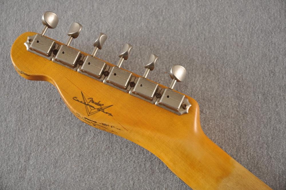 Fender 1964 Telecaster Custom Shop Heavy Relic Blue Ice Metallic - View 6
