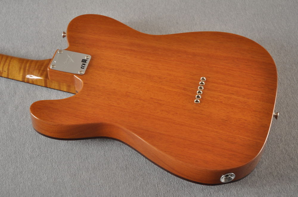 Fender Custom Shop Telecaster Artisan Koa P90 Chambered Body - View 13